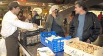 Zona de compra-venta de productos micológicos