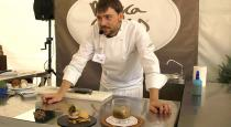 Carlos Aldea del Parador de Soria colabora con Mercasetas haciendo una demostración micogastronómica