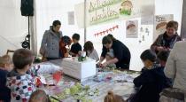 Los niños también disfrutaron de las actividades infantiles de la mano de Rio Vivo
