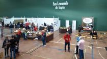 Vista general del Mercasetas celebrado en San Leonadro de Yagüe